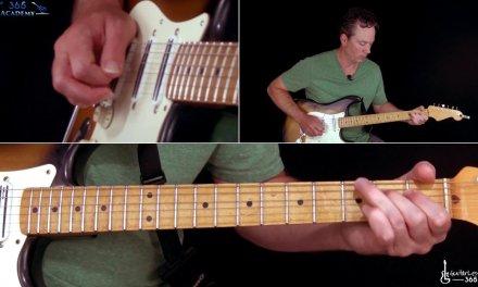 AC/DC – Whole Lotta Rosie Guitar Lesson (1st Solo)