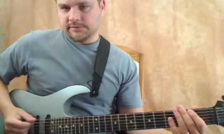 Metal Guitar Lessons – Metal Lick #1