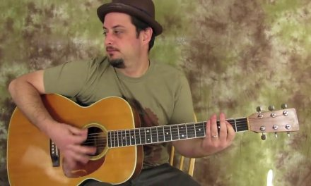 Acoustic Blues Backing track (Key of E)