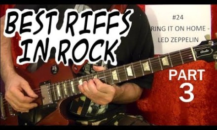 Best Rock Riffs of All Time (1958-2003) – Guitar Lesson – Part 3 of 10