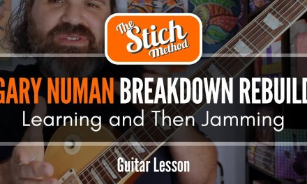 """Learning To Jam On Songs You Love: 80's Edition """"CARS"""" Guitar Lesson"""