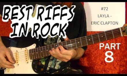 Best Rock Riffs of All Time (1958-2003) – Guitar Lesson – Part 8 of 10