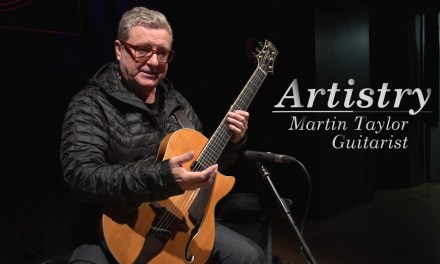 Martin Taylor demonstrates how to achieve counterpoint with finger-style guitar