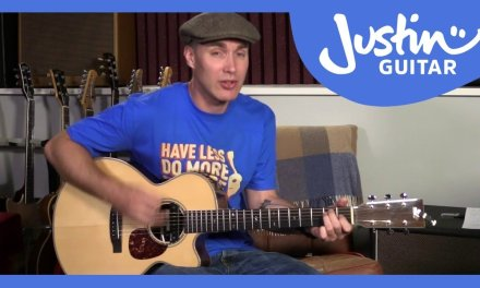 Neil Young – Out On The Weekend Guitar Lesson Tutorial Acoustic Live BBC