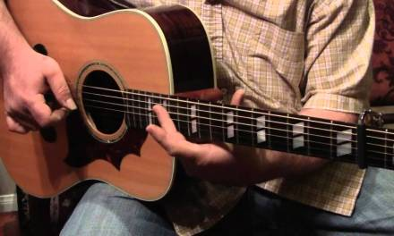 Police Dog Blues Finger Style Blues lesson