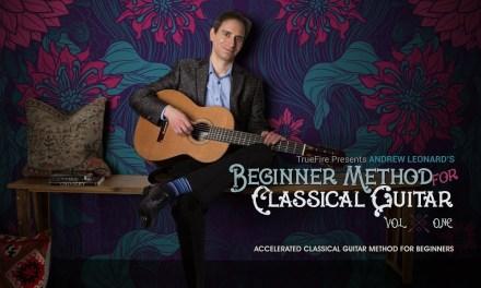 Beginner Method for Classical Guitar – Intro – Andrew Leonard