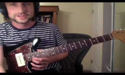 """Guitar Lesson: """"Dramamine"""" by Modest Mouse"""