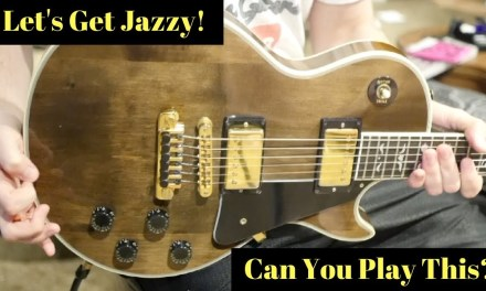 """Think You Can Play This?   The """"Trogly"""" Jazz Chord Progression Lesson"""