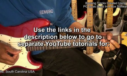 BLUES On Guitar Lesson YouTube Playlists From EricBlackmonGuitar