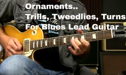Lead Guitar Lesson – Ornaments   Trills, Tweedlies, and Turns