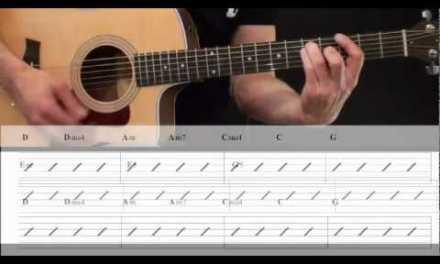 Beginner Acoustic Strumming Guitar Lesson 3 of 3