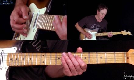 Iron Maiden – Aces High Guitar Lesson (Rhythms)