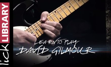 LEARN TO PLAY DAVID GILMOUR | Guitar Lessons