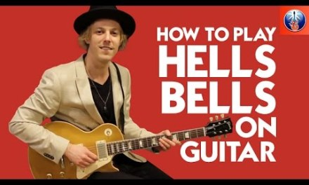 How to Play Hells Bells on Guitar – AC DC Back in Black Lesson