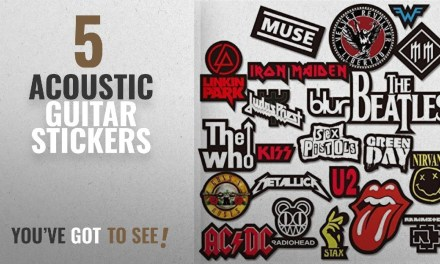 Top 10 Acoustic Guitar Stickers [2018]: PickTheGuitar Stickers For Rock/Metal Band Logos