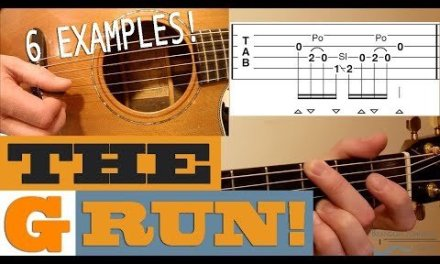 """The """"G Run"""" – 6 Examples 