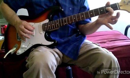 Simple Blues/Rock riff guitar lesson