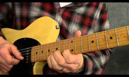 Slow blues guitar solo in the key of C – BL003