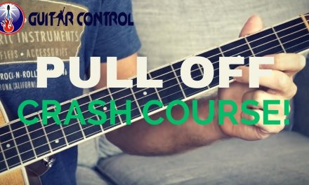 Pull Off Crash Course – Proper Pull Off Guitar Technique