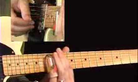 Slide Blues Guitar Lessons – Slide Shop – David Hamburger – Shuffle D Solo 2b