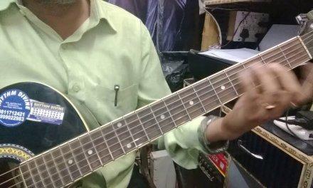 Basic Beginners Guitar Lesson Part 8.