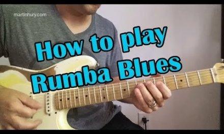 Rumba Blues Lesson