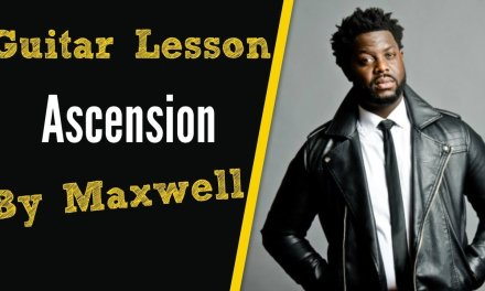 [R&B Guitar Lesson] Ascension by Maxwell
