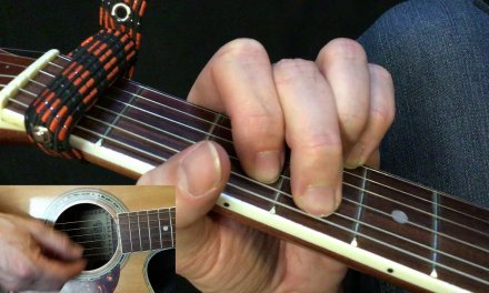 Perfect – Easy Guitar Chords – Close Up Guitar Player View