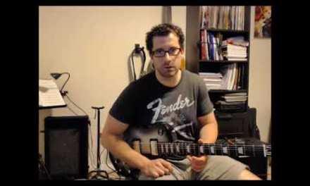 Blues Guitar Lessons Video 5 – Charleston Rhythm and Variation