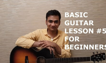 Basic Guitar Lesson #5 for Beginners in Hindi – Important Exercise for Weak Fingers