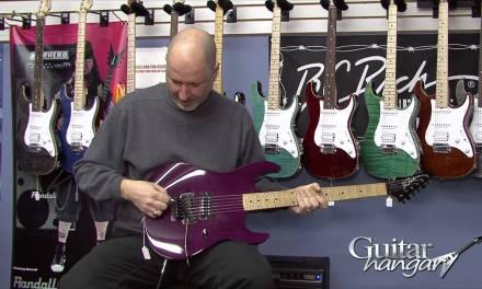 BC Rich Gunslinger Custom Shop Electric Guitar Demo   Guitar Hangar