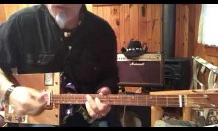La Grange advanced lesson for your 3 string Cigar Box Guitar