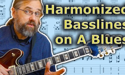 How To Play A Harmonized Bass Line On A Blues