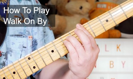 'Walk On By' The Stranglers Guitar & Bass Lesson