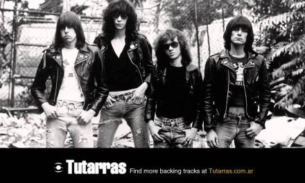 Ramones – teenage lobotomy 2 [Guitar Backing tracks]