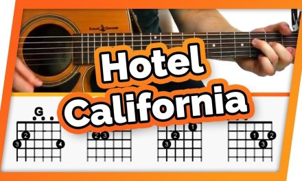 Hotel California – The Eagles – Guitar Tutorial (Lesson) For Beginners // Easy Chords