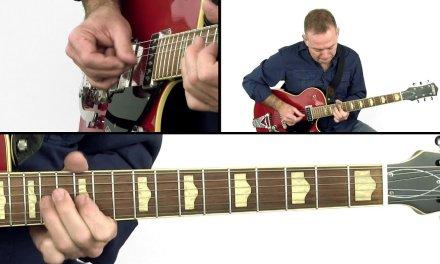 Slapback, Billy & Twang Guitar Lesson – Rumble Jets Performance – BJ Baartmans