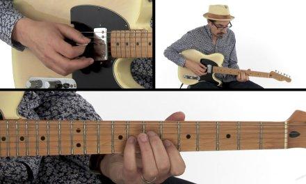 Blues Turnaround Guitar Lesson – Toronto Tele – David Hamburger