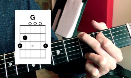 12. The G and C Chords. Beginner's Guitar Lesson.