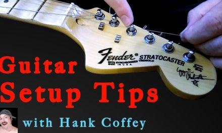 Basic Guitar Setup Tips for Beginners | Strat Style Guitars