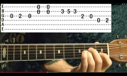 Is There Anybody Out There – PINK FLOYD – Guitar Lesson – EASY!