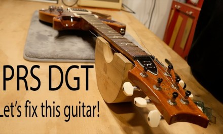 Guitar Repair – PRS DGT Part 2