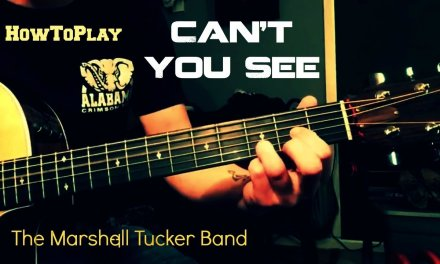 Guitar Lesson: Can't You See – Marshall Tucker Band (Easy Chords)