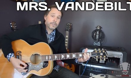 How to play Mrs. Vandebilt Paul McCartney and Wings – Acoustic Guitar Lesson