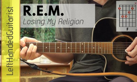 REM – Losing My Religion | acoustic guitar lesson