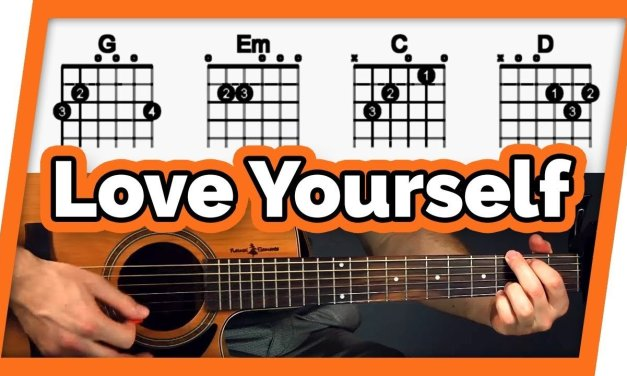 Love Yourself Guitar Lesson (Tutorial) – Easy Chords For Beginners