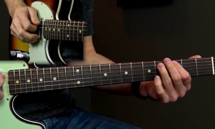 Slow Blues Solo Lesson over Acoustic Guitar Podcast 38