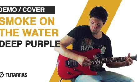How to play SMOKE ON THE WATER – Deep Purple – Electric Guitar GUITAR LESSON