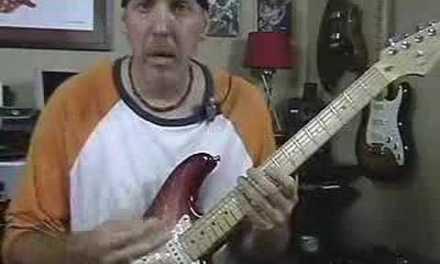 Guitar Lesson add Dorian mode to minor major pentatonic pt2