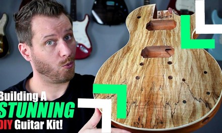 Building a LES PAUL Guitar kit! – This Thing is Beautiful!